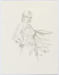 Original Comic Art:Splash Pages, Ray Lago - Power Girl Pin-Up Illustration Original Art(undated)....