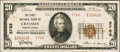 National Bank Notes:Pennsylvania, Cresson, PA - $20 1929 Ty. 2 The First NB Ch. # 5768. ...