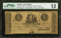 Canadian Currency: , Montreal, LC- Union Bank $1 Aug. 1, 1838 Ch. # 725-12-02.. ...