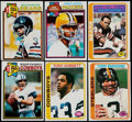 Football Cards:Sets, 1978 & 1979 Topps Football Near/Partial Set Collection (2)....