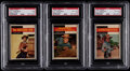 Non-Sport Cards:Unopened Packs/Display Boxes, 1958 Topps TV Western Unopened Cello Packs Trio (3). ...