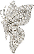 Estate Jewelry:Brooches - Pins, Diamond, Platinum Brooch, Tiffany & Co.. ...