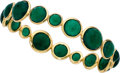 Estate Jewelry:Bracelets, Chrysoprase, Gold Bracelet, Ippolita. . ...
