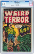 Golden Age (1938-1955):Horror, Weird Terror #1 (Comic Media, 1952) CGC FN 6.0 Off-white pages....