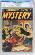 Golden Age (1938-1955):Horror, Journey Into Mystery #1 (Marvel, 1952) CGC PR 0.5 Cream tooff-white pages....