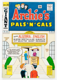 Archie's Pals 'n' Gals #23 (Archie, 1962) Condition: FN