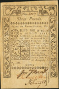 Colonial Notes, Rhode Island May 1786 £3 About New.. ...