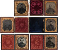 Photography:Tintypes, Lot of Six Civil War Photographic Images of Unidentified Union Soldiers.... (Total: 6 Items)