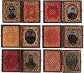 Photography:Tintypes, Lot of Six Civil War 1/9th Plate Images of Unidentified Union Soldiers.... (Total: 6 Items)