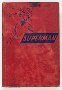 The Adventures of Superman Hardcover Book (Random House, 1942) Condition: GD