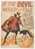 Golden Age (1938-1955):Religious, If the Devil Would Talk #nn (Impact, 1950) Condition: FN+....