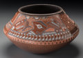 American Indian Art:Pottery, A Santa Clara Polychrome Jar. Susan Folwell. c. 1997...