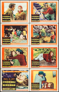 "Stromboli (RKO, 1950). Lobby Card Set of 8 (11"" X 14""). Drama. ... (Total: 8 Items)"