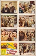 "Movie Posters:War, The Purple Heart (20th Century Fox, 1944). Lobby Card Set of 8 (11""X 14""). War.. ... (Total: 8 Items)"