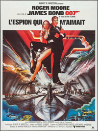 """The Spy Who Loved Me (United Artists, R-1980s). French Grande (47"""" X 63""""). James Bond"""