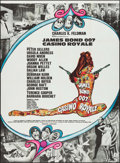 "Movie Posters:James Bond, Casino Royale (Columbia, 1967). French Grande (45.5"" X 62""). JamesBond.. ..."