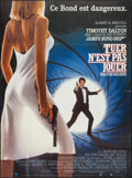 "Movie Posters:James Bond, The Living Daylights (UIP, 1987). French Grande (45.5"" X 61.5"").James Bond.. ..."