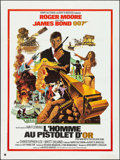 "Movie Posters:James Bond, The Man with the Golden Gun (United Artists, R-1980s). FrenchGrande (47"" X 63"") DS. James Bond.. ..."