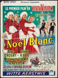 """White Christmas (Paramount, 1954). Trimmed Belgian (14.5"""" X 19.25""""). Musical"""