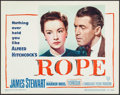 """Movie Posters:Hitchcock, Rope (Warner Brothers, 1948). Title Lobby Card (11"""" X 14""""). Hitchcock.. ..."""