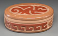 American Indian Art:Pottery, A Santa Clara Polychrome Lidded Jar. Nathan Youngblood. c. 1995...