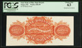 Obsoletes By State:Ohio, Piqua, OH- State Bank of Ohio, Piqua Branch $1 Back Proof Wolka2206-09. ...