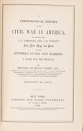 Books:Americana & American History, Richard Swainson Fisher, M.D. A Chronological History of theCivil War in America. Illustrated With A. J. Johnson's and ...