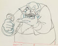 Animation Art:Production Drawing, Pinocchio Stromboli Animation Drawing (Walt Disney,1940)....