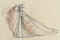 Animation Art:Production Drawing, Sleeping Beauty Maleficent Pan Animation Drawing (Walt Disney, 1959)....