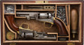 Handguns:Single Action Revolver, Cased Pair of English Proofed Colt 1849 Pocket Percussion Revolvers.... (Total: 2 Items)