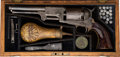 Handguns:Single Action Revolver, Cased and Engraved Colt 3rd Model Dragoon Percussion Revolver,British Proofs....