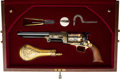 Handguns:Single Action Revolver, Cased US Historical Sam Houston Commemorative Colt Walker Revolver....