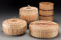 American Indian Art:Baskets, Four Contemporary Native American Baskets. Barbara D. Francis,Theresa Secord, and Eliasica Timmerman. c. 2000... (Total: 4 Items)