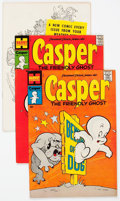 Bronze Age (1970-1979):Cartoon Character, Friendly Ghost Casper File Copies Box Lot (Harvey, 1968-81) Condition: Average VF/NM....