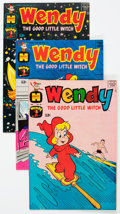 Bronze Age (1970-1979):Cartoon Character, Wendy, the Good Little Witch File Copies Box Lot (Harvey, 1968-75)Condition: Average VF/NM....