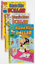Bronze Age (1970-1979):Cartoon Character, Richie Rich and Dollar the Dog/Richie Rich and His Girl FriendsFile Copies Box Lot (Harvey, 1977-82) Condition: Average NM-....