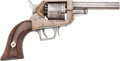 Handguns:Single Action Revolver, E. Whitney Dual Trigger Single Action Percussion Pistol....