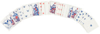 Complete Set of Civil War Playing Cards