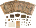 Miscellaneous:Ephemera, Explorer Henry Morton Stanley: Collection of Confederate Artifacts....