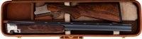 Cased Engraved Browning Superposed D3 Grade Boxlock Over and Under Shotgun