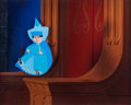 Animation Art:Production Cel, Sleeping Beauty Merryweather Production Cel Setup (WaltDisney, 1959)....