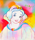 Animation Art:Production Drawing, Peter Max - Snow White Painting Original Art (Walt Disney,1994)....