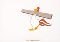 Animation Art:Production Cel, Raw! Raw! Rooster Foghorn Leghorn Production Cel (WarnerBrothers, 1956)....