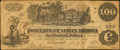 "Confederate Notes:1862 Issues, Manuscript Endorsement ""W.T. Goodwin"" T40 $100 1862 PF-1 Cr. 298....."