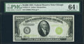 Small Size:Federal Reserve Notes, Fr. 2221-G $5,000 1934 Federal Reserve Note. PMG ChoiceUncirculated 64 EPQ.. ...