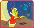 Animation Art:Production Cel, Dr. Seuss' How the Grinch Stole Christmas Production Cel(MGM, 1966)....