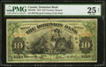 Canadian Currency: , Toronto, ON- Dominion Bank $10 Jan. 3, 1910 Ch. # 220-18-04. ...