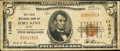 National Bank Notes:Maine, Fort Kent, ME - $5 1929 Ty. 1 The First NB Ch. # 11403. ...
