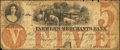 Obsoletes By State:Iowa, Ashland, IA- Farmers and Merchants Bank $5 Oct. 20, 1857. ...