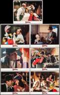 "Movie Posters:Animation, Who Framed Roger Rabbit (Touchstone, 1988). Lobby Cards 7 (11"" X 14""). Animation.. ... (Total: 7 Items)"